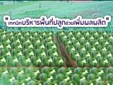 พลังวิทย์ คิดเพื่อคนไทย ตอน เทคนิคบริหารพื้นที่ปลูกช่วยเพิ่มผลผลิต
