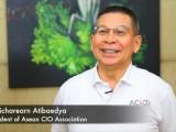 Thailand CIOs' meet 2015 :  Chaicharearn Atibaeya, President of ACIOA