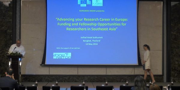Advancing your Research Career in Europe: Funding and Fellowship Opportunities for Researchers in Southeast Asia