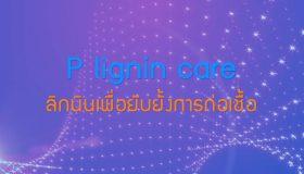 พลังวิทย์ คิดเพื่อคนไทย ตอน P lignin care ลิกนินเพื่อยับยั้งการก่อเชื้อ